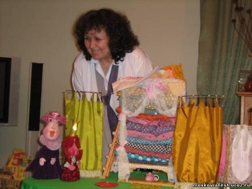 мастер-класс театров кукол